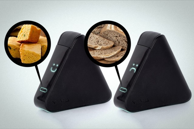 Nima sensor detects gluten content in food within three minutes. (Image courtesy of Nima/MIT.)