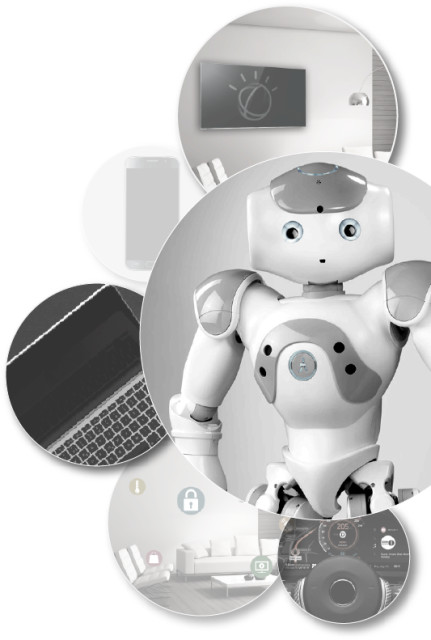 Is it just me, or does that robot look like it's about to break Asimov's first law? (Image courtesy of IBM.)