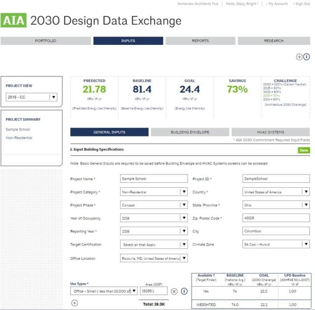 The AIA 2030 report shows Autodesk's commitment and progress with AIA 2030 DDx.