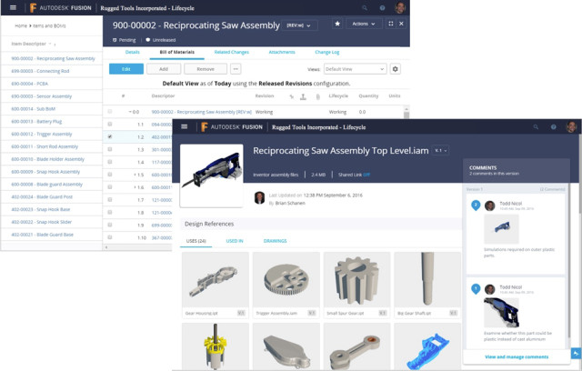 Autodesk Launches PDM-in-the-Cloud to Bolster PLM Solution – Finally
