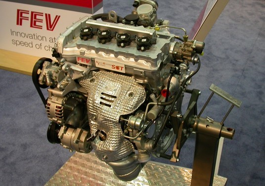 A prototype GDI engine. (Image courtesy of Gonek.)