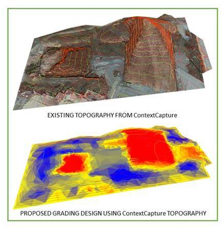 Reality-captured 3D data from ContextCapture. (Image courtesy of Bentley Systems.)