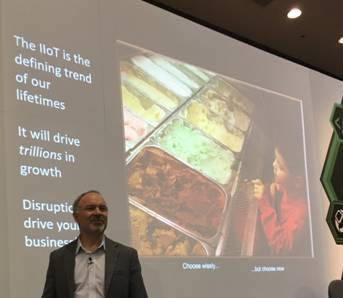 Figure 1. For IoT and for gelato, choose wisely but choose now, says Stan Schneider.