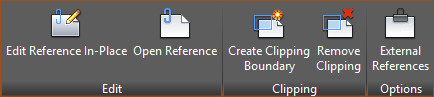 Figure 3. External Reference tab.