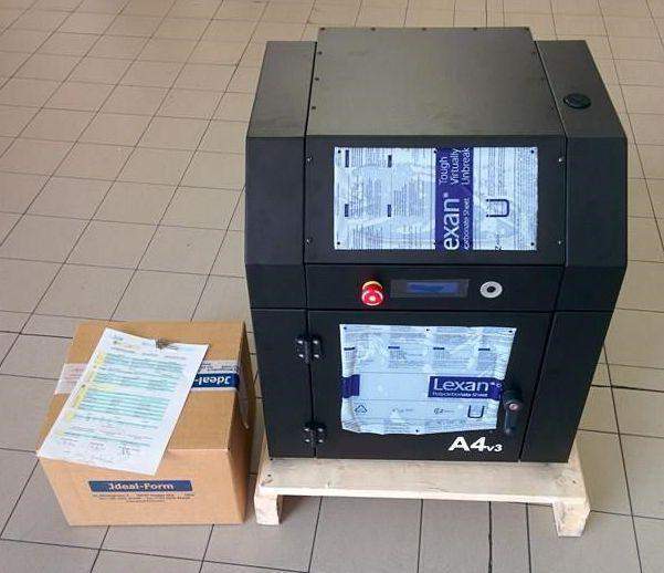 The A4 3D printer from 3ntr. (Image courtesy of Plural AM.)