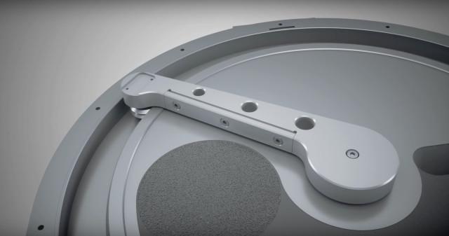 The Creator features a circular recoater blade that allows for quicker recoating and a printing process that is 30 percent faster than selective laser melting technologies. (Image courtesy of OR Laser/YouTube.)