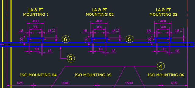 how to use multiple colurs in autocad