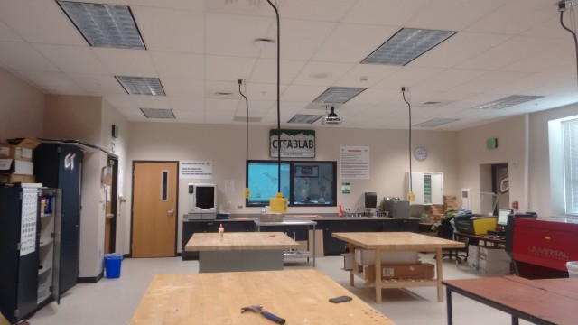 An Engineering Technologies classroom at Cherokee Trail High School in Aurora, Colo. (Image courtesy of Cherokee Trail High School.)