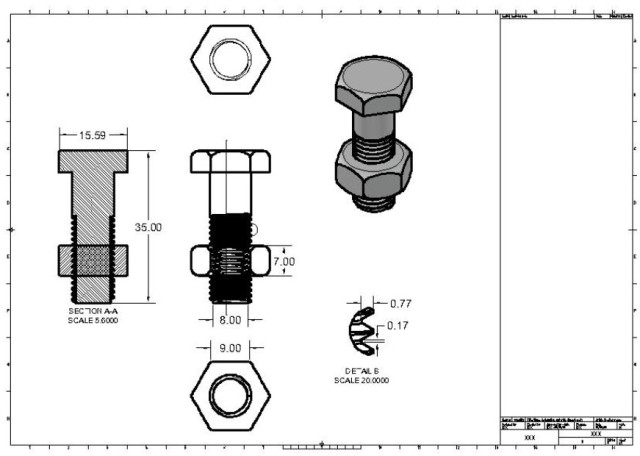 Working with AutoCAD Layout View > ENGINEERING com