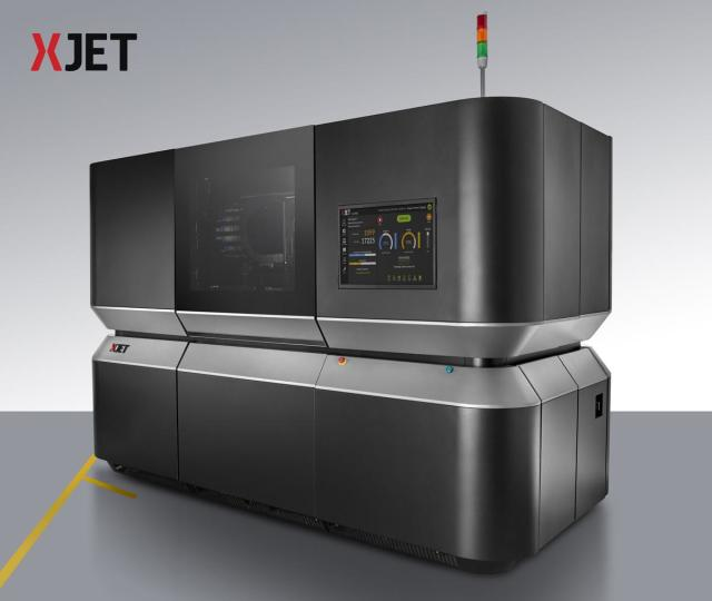 The XJet machine has an enormous print bed of 500 mm x 250 mm x 250 mm in size. (Image courtesy of XJet.)