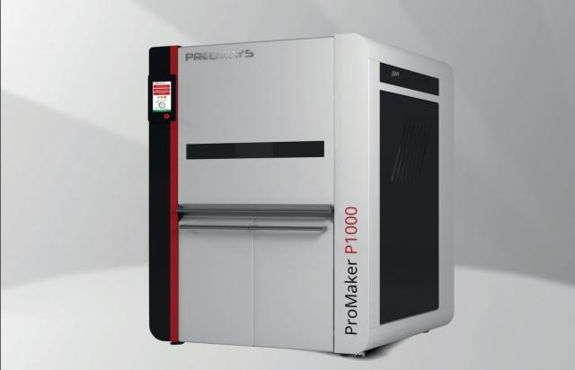 Prodways' new sub-$115,000 SLS 3D printer, leveraging Farsoon and Norge technology. (Image courtesy of Prodways.)