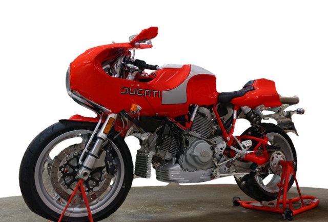 Ducati motorcycle model made using Autodesk Memento beta, courtesy of Bandito Brothers studio. (Image courtesy of Autodesk.)