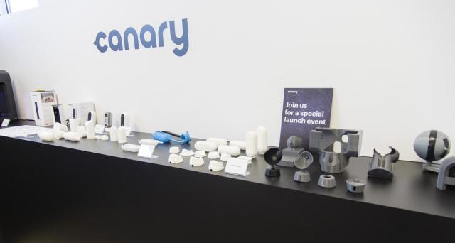Numerous accessories for Canary devices were prototyped with MakerBot technology. (Image courtesy of MakerBot.)