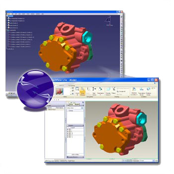 Visualize 3D-CATIA V5 to Creo View Adapter: Overview and