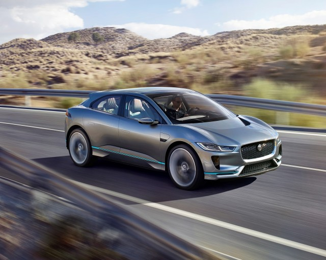 Jaguar Reveals I Pace Electric Vehicle Concept Engineering Com