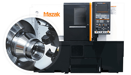 Mazak Multi-Tasking Turning Center Features High-Accuracy C