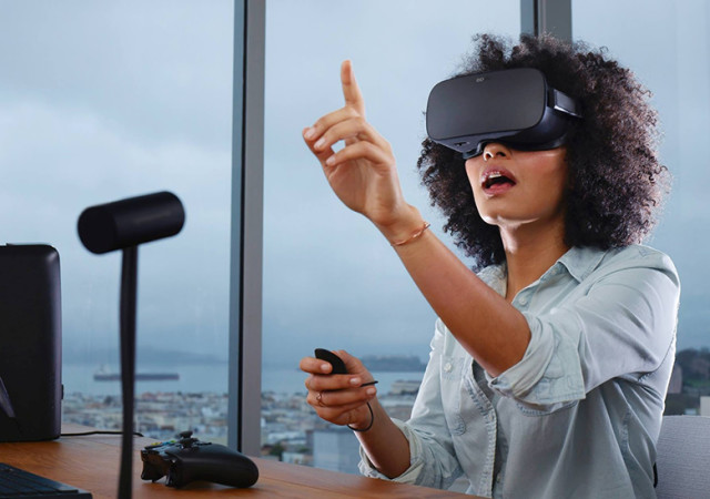 The story of Oculus Rift took off with a hugely successful Kickstarter project in 2012 and there are some promising plug-ins for popular CAD programs like SOLIDWORKS. (Image courtesy of Oculus.)