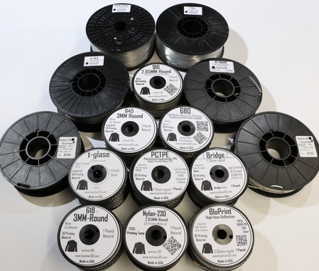 taulman3D was among the first third-party filament manufacturers to produce industrial-grade materials. (Image courtesy of taulman3D.)