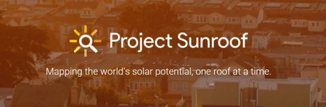 Project Sunroof was originally launched in August 2015. (Screenshot courtesy of Project Sunroof.)