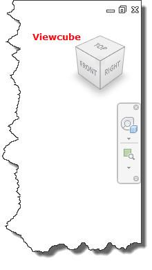 Figure 8. The Viewcube.