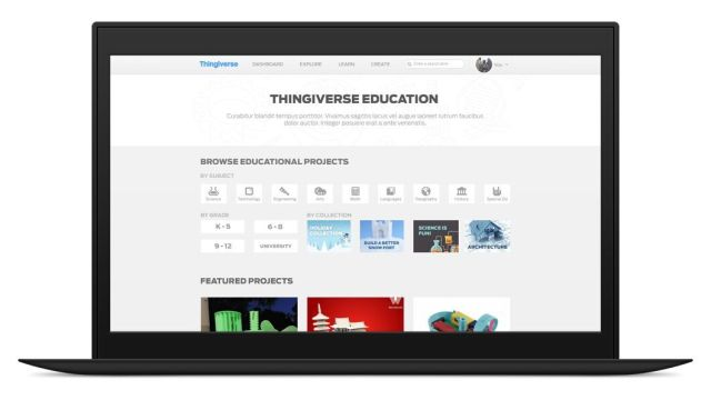 MakerBot Introduces Thingiverse Education After 18 Months of