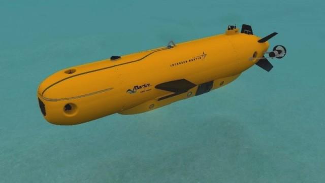 Coming soon from SeaRobotics: The Lockheed Martin Marlin Mk3. (Image courtesy of Lockheed Martin.)