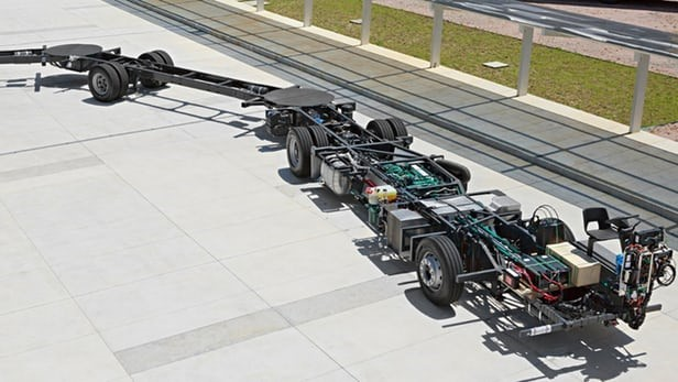 The Artic 300 Chassis. (Image courtesy of Volvo.)