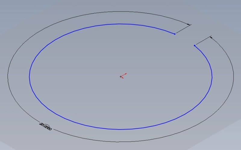 Circumference Dimension Dassault Solidworks 3d Design Eng Tips