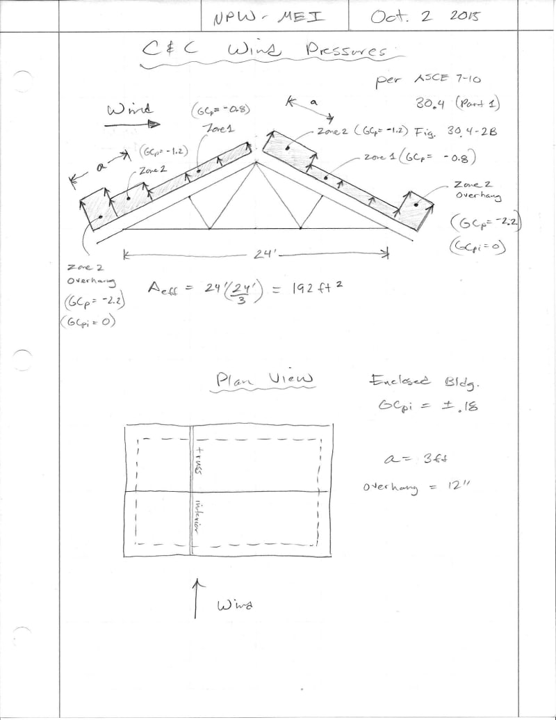 C&C Wind Loads - Structural engineering general discussion - Eng-Tips