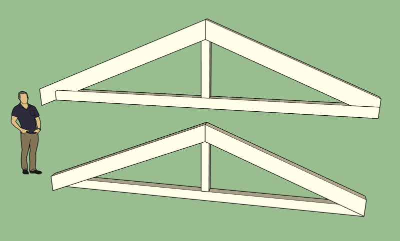 Timber Truss Design With Bolted Connector Plates Truss Engineering