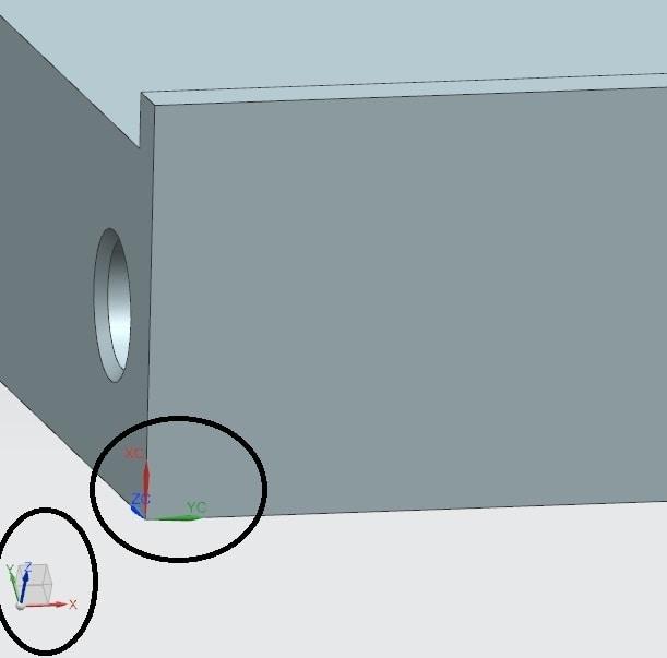 WCS problem on NX - Siemens: UG/NX - Eng-Tips