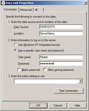 SSIS 2012 connection to Pervasive SQL V8 database