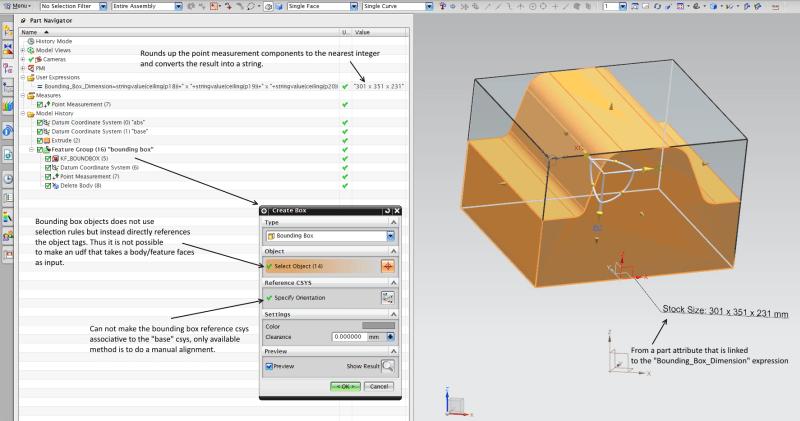 NX9 Bounding Box function - Siemens: UG/NX - Eng-Tips