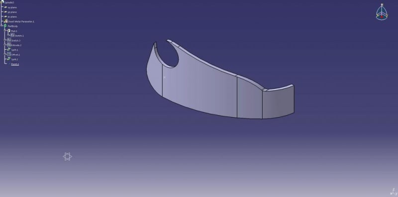 How To Bend Around A Surface Dassault Catia Products