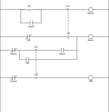 Ladder Diagram For Dg Type 4 Way Valve Spring Centered Circuit Design Eng Tips