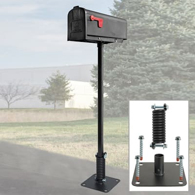 Hardening a New Double-Walled Plastic Rural Mailbox Against