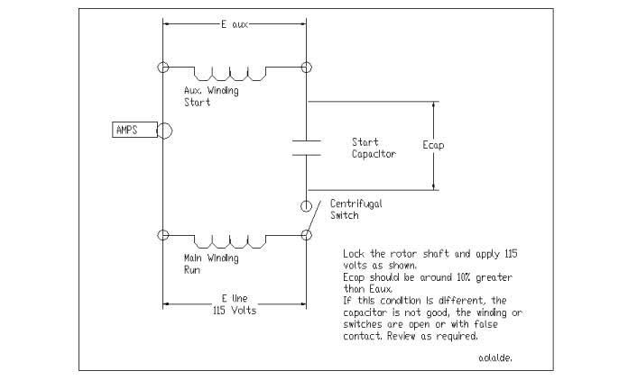 Astounding Single Phase Capacitor Start Hoist Help Me Troubleshoot Please Wiring Database Mangnorabwedabyuccorg