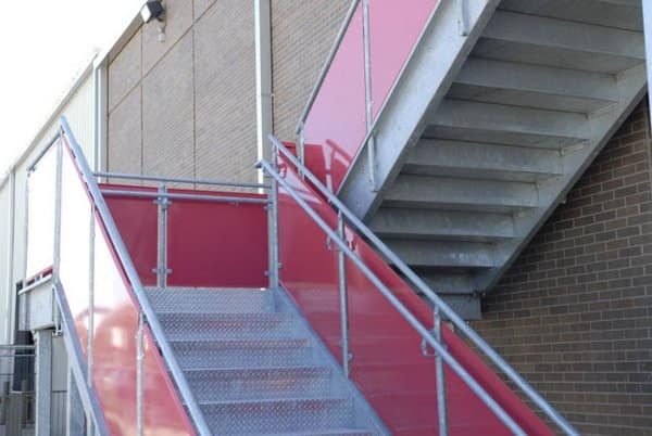 OHSA stair guard height requirements - Structural engineering
