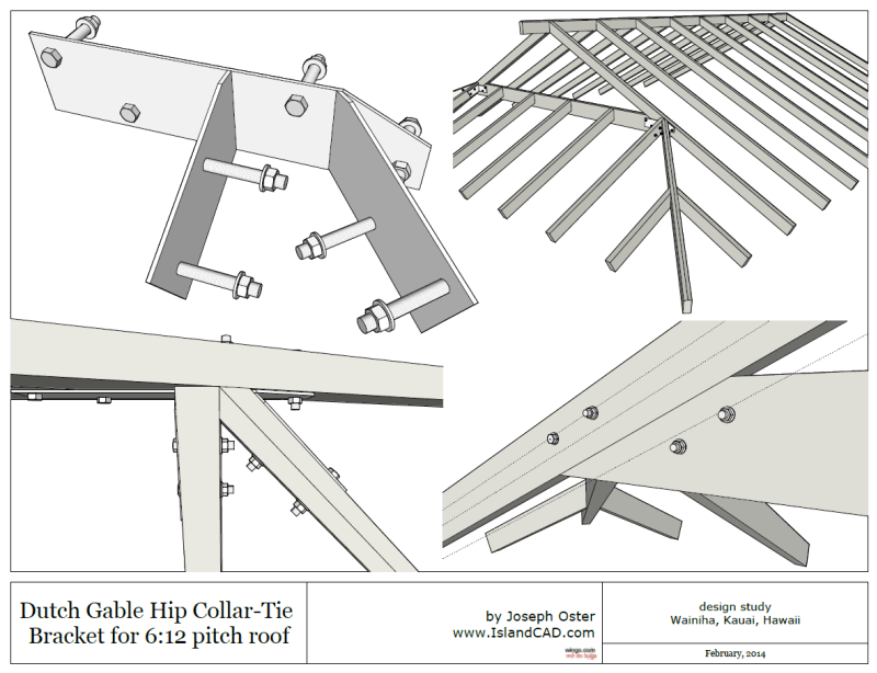 Dutch Gable Roof Bracket Structural Engineering Other