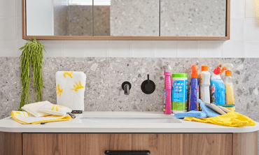 How to clean your bathroom without harsh chemicals
