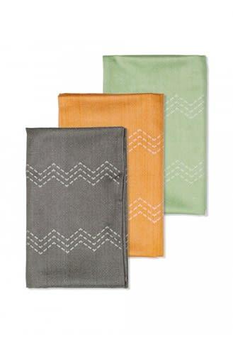 Bamboo T-Towel - Mixed
