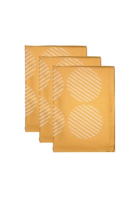 Bamboo T-Towel - Mustard