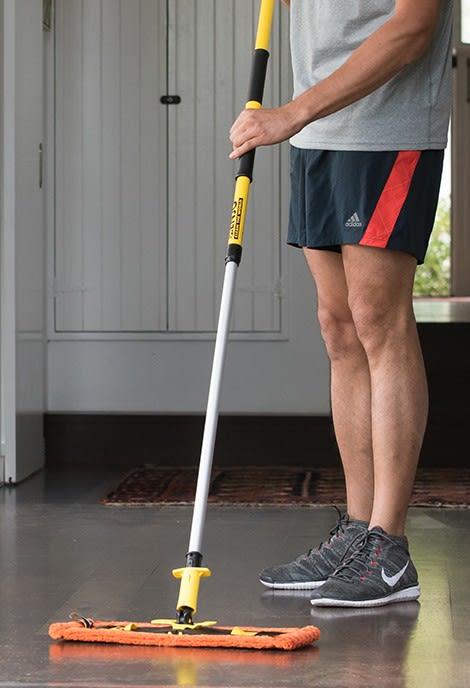 Dust Ourdoor Floor