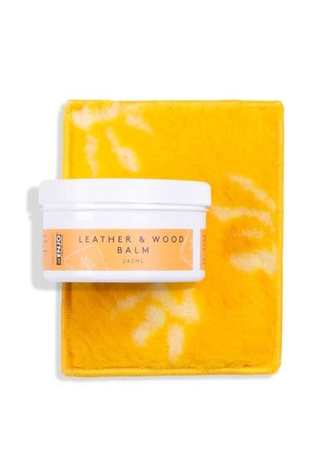 Leather & Wood Balm 240ml (Set)