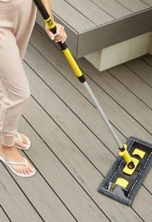 Outdoor Floor Fibre