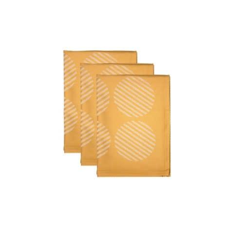 Bamboo T-Towel Mustard (3)