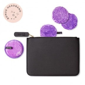 Party Season Perfect Charcoal Pouch - Lilac
