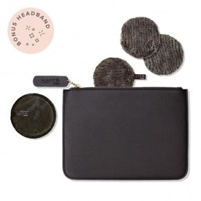 Party Season Perfect Charcoal Pouch - Midnight