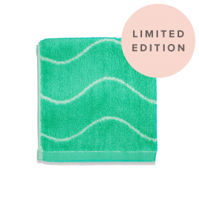 Limited Edition Bamboo Face Towel Mint