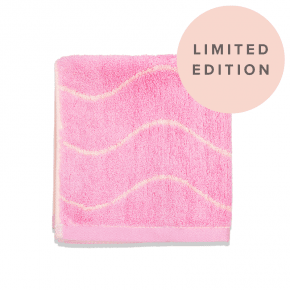 Limited Edition Bamboo Face Towel Pink